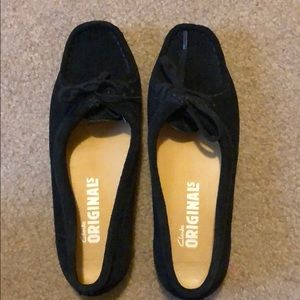 Gently used Clark's Originals flats